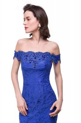 HALLIE | Русалка Off-the-плечо длиной до пола, кружевные платья невесты с кристаллами_8
