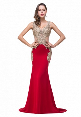 Formal Dresses With Applique