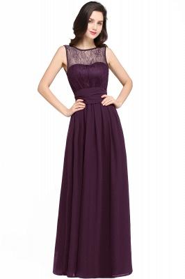 CHARLOTTE | una línea de piso de longitud gasa sexy vestido de fiesta negro_2