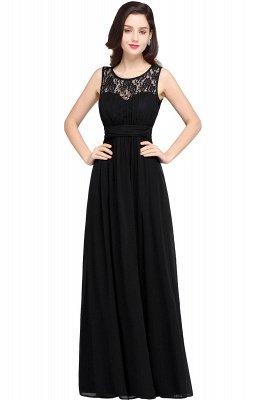 Jewel Long gaine en mousseline de soie-parole longueur manches en dentelle sexy robe de soirée_7