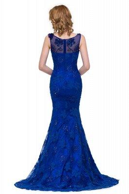 GWEN | Mermaid Bateau Sweep-length Form Dresses With Applique Crystal_3