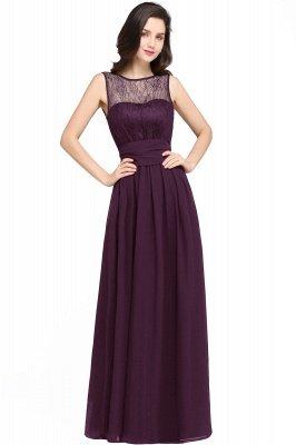 Jewel Lace Keyhole Gaine-parole longueur noire en mousseline de soie Sexy robe de soirée_2