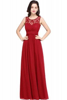Jewel Long gaine en mousseline de soie-parole longueur manches en dentelle sexy robe de soirée_1