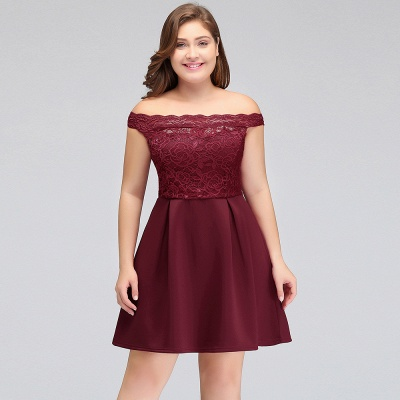 lace plus size homecoming dress