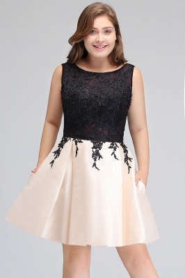 short plus size prom dresses
