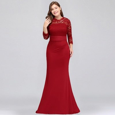 cheap plus size bridesmaid dresses with sleeves 2018