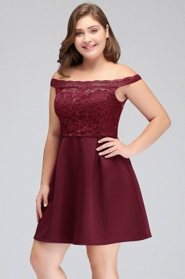 plus size homecoming dress short lace