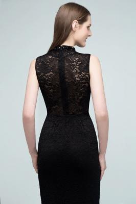 VERA | Mermaid Sleeveless Keyhole Neckline Floor Length Lace Prom Dresses with Crystals_6