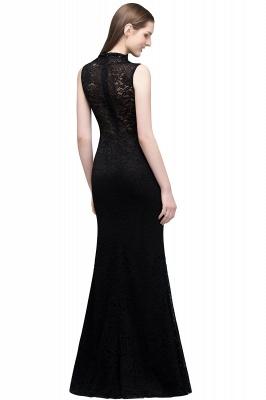 VERA | Mermaid Sleeveless Keyhole Neckline Floor Length Lace Prom Dresses with Crystals_3