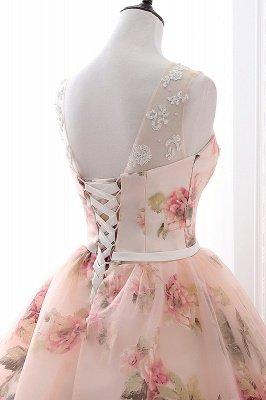 ALIA | Robe de bal chérie Vintage robes de soirée en organza avec impression_5