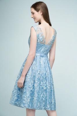 RENATA | A-line Sleeveless Knee Length Appliques Homecoming Dresses with Robbin Sash_5