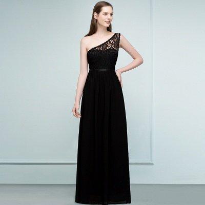 سيبيل | A- لاين أميرة بكتف واحد الطول الأرضي شيفون فستان وصيفة الشرف مع وشاحات_8