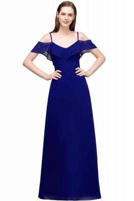 JULIANA | A-line Spaghetti Off-shoulder V-neck Long Chiffon Prom Dresses_4