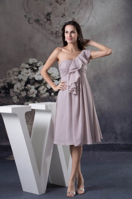 KENDALL  | Sexy A-Line Sleeveless Floor Length Ruffles Chiffon Bridesmaid Dresses Cheap Online_1