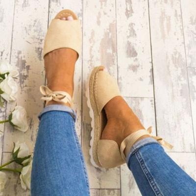 Sandales à plateforme à lacets et à lacets_10