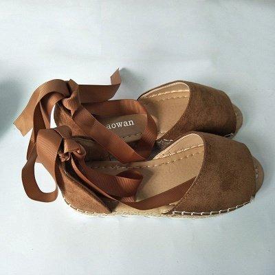 Sandales à plateforme à lacets et à lacets_19