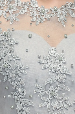 MAE   A-line Illusion Neckline Long Appliques Chiffon Prom Dresses_8