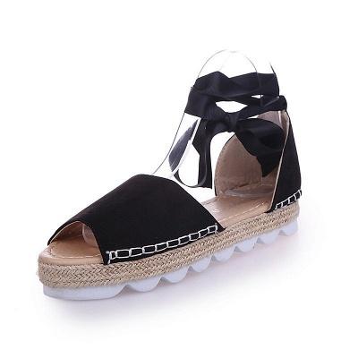 Sandales à plateforme à lacets et à lacets_5