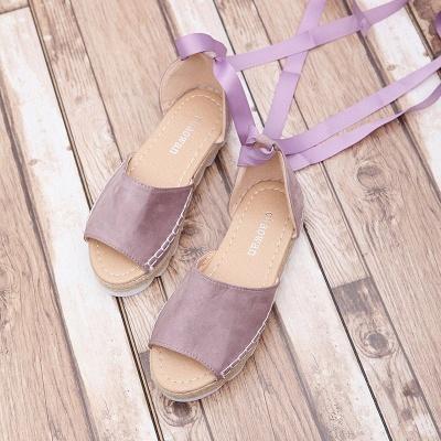 Sandales à plateforme à lacets et à lacets_17