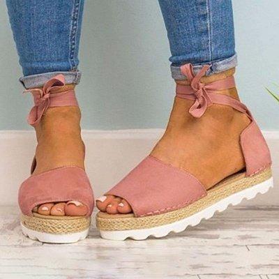 Sandales à plateforme à lacets et à lacets_9