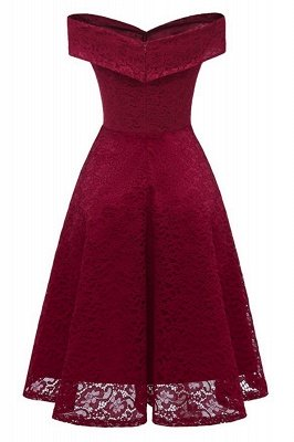 Red Bridesmaid Dresses Short Dresses for Wedding Party Formal Dress_2