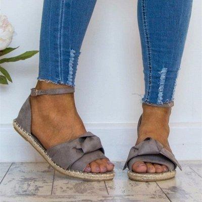 Bride à la cheville appartements lacets chaussures sandales espadrilles en daim_3