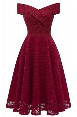 Red Bridesmaid Dresses Short Dresses for Wedding Party Formal Dress_10