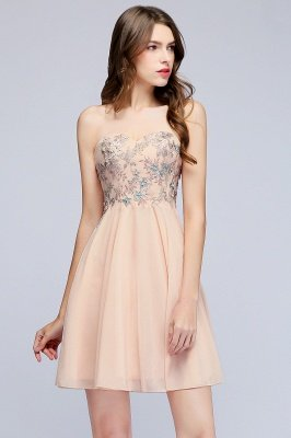 MADELINE | A-line Short Strapless Sweetheart Beading Appliques Homecoming Dresses_11