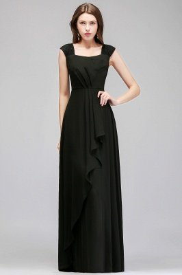 MAGDALEN | A-line Floor Length Sleeveless Ruffled Chiffon Bridesmaid Dresses_7