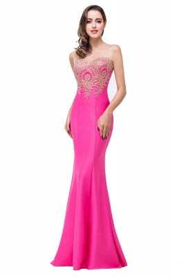 EMMY | Mermaid Floor-Length Sheer Prom Dresses with Rhinestone Appliques_5