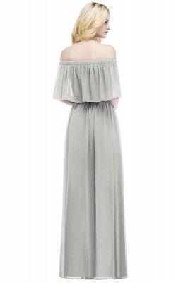 Hera | Off the shoulder Black Long Evening Dress - Clearance Sale_10