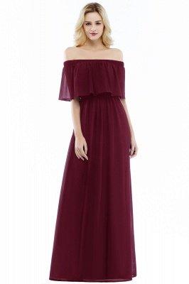 Hera | Off the shoulder Black Long Evening Dress - Clearance Sale_1