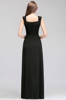 MAGDALEN | A-line Floor Length Sleeveless Ruffled Chiffon Bridesmaid Dresses_3