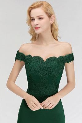 Elegante Brautjungfernkleider Dunkelgrün Online Kaufen | Günstige Brautjungferkleider Mit Applikationnen_13