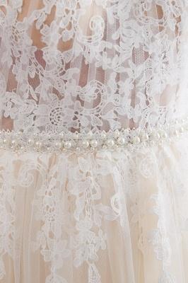 NATALIA | A-line Halter Floor Length Appliqued Tulle Evening Dresses_11