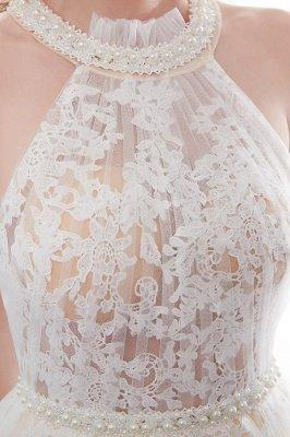 NATALIA | A-line Halter Floor Length Appliqued Tulle Evening Dresses_10