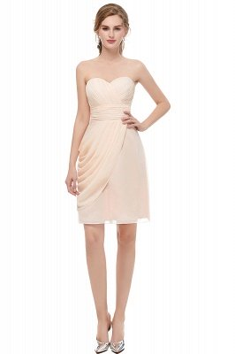 NELLIE | A-line Sweetheart Strapless Ruffles Chiffon Homecoming Dresses_1