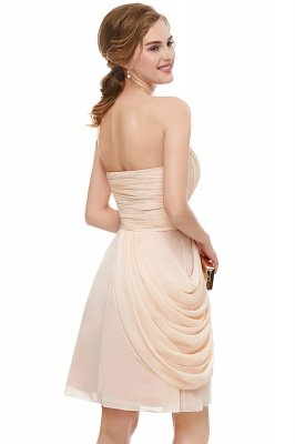 NELLIE | A-line Sweetheart Strapless Ruffles Chiffon Homecoming Dresses_3