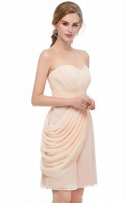 NELLIE | A-line Sweetheart Strapless Ruffles Chiffon Homecoming Dresses_4