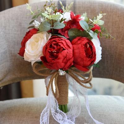 Свадебный букет из натуральных камней_4