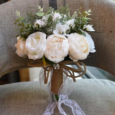 Свадебный букет из натуральных камней_2