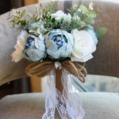 Свадебный букет из натуральных камней_7