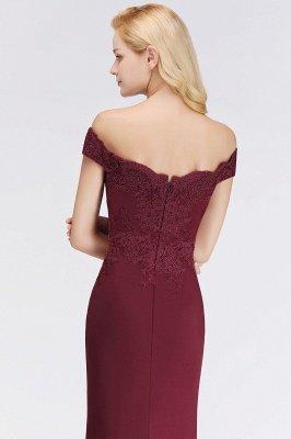 Elegante Brautjungfernkleider Dunkelgrün Online Kaufen | Günstige Brautjungferkleider Mit Applikationnen_16