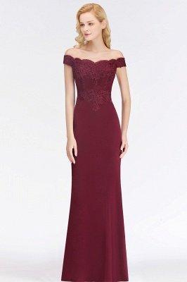 Elegante Brautjungfernkleider Dunkelgrün Online Kaufen | Günstige Brautjungferkleider Mit Applikationnen_15