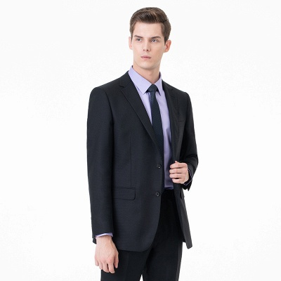 High Quality Two-piece Suit Single Breasted Wedding Suits_3
