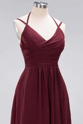 A-line Chiffon Spaghetti Straps Sleeveless Ruffles Floor-Length Bridesmaid Dresses_9