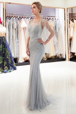 MAXINE | Mermaid Sweetheart Illusion Neckline Sequins Beading Evening Dresses