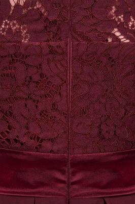 A-line Chiffon Lace Jewel Sleeveless Ruffles Floor-length Bridesmaid Dress_15