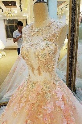 Crew Fashion Sleeveless Une robe de bal de longueur de plancher de baguettes_6