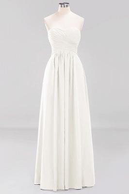 Herz Ausschnitt Braujungfernkleider Träglos | Elegantes Brautjungfer Kleid Weinrot_2